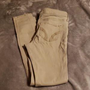 Hollister Super Skinny Jeans (Khaki)